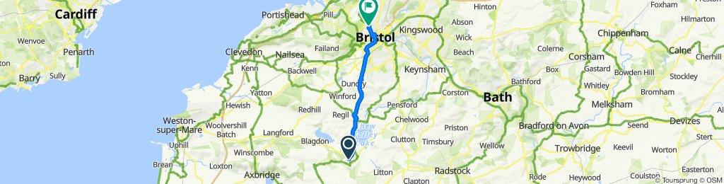 Harptree Hill, Bristol to 1–11 Auburn Road, Bristol