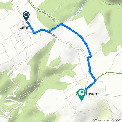 Luhnhofweg 20, Lahr to Im Eck 6, Zilshausen