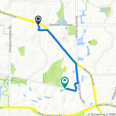 Belmar Lane 851, Buffalo Grove to Claret Drive 413, Buffalo Grove