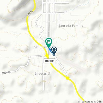 De Estrada Buarque de Macedo, Nova Prata a Rua Presidente Vargas, 2214–2328, Nova Prata