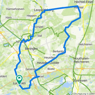 Hechtel Beringen 58km
