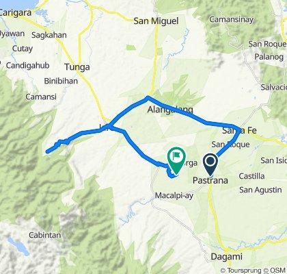Sta Fe-Pastrana-Dagami Road to Unnamed Road, Pastrana