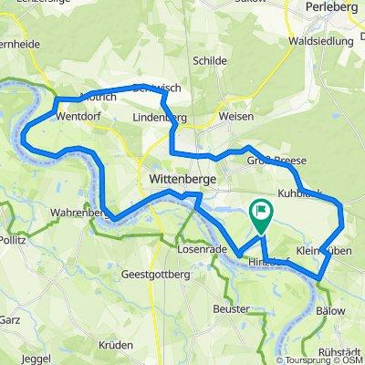 Elberadweg Wittenberge