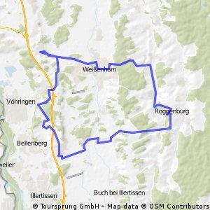 Tiefenbach - Roggenburg - Weissenhorn