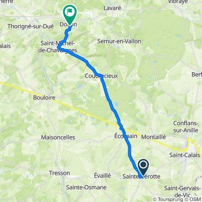 De 2–8 Rue de l'Église, Sainte-Cérotte à 2–12 Grande Rue, Dollon