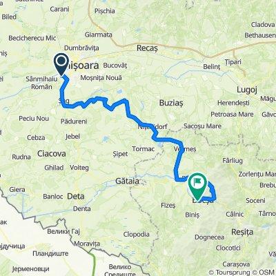 Timisoara - Blajova - Bocsa Ride