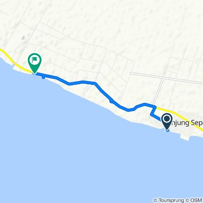 Jalan Jeti Nelayan, Tanjung Sepat to Jalan Banting Sepang, Batu
