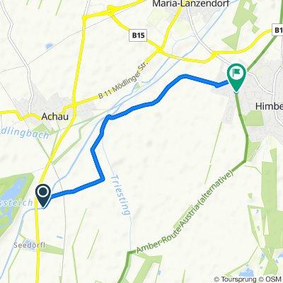 Route nach Rudolf-Wieser-Gasse 41/1, Himberg