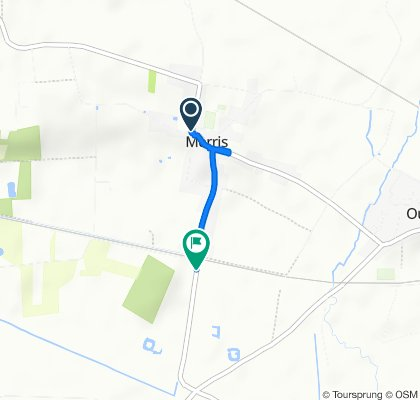 Route from Rue du Moulin 15, Merris