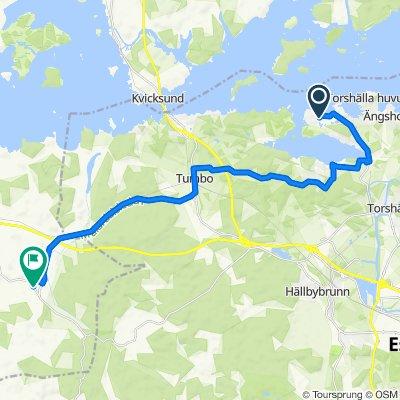 August Stålbergs väg 21, Torshälla to Forsuma 141, Kungsör