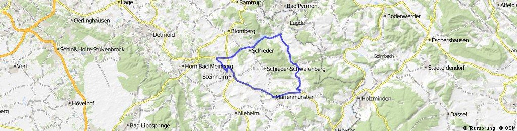 Steinheim/Marienmünster/Rischenau/Sch.-Schwbg./Steinheim