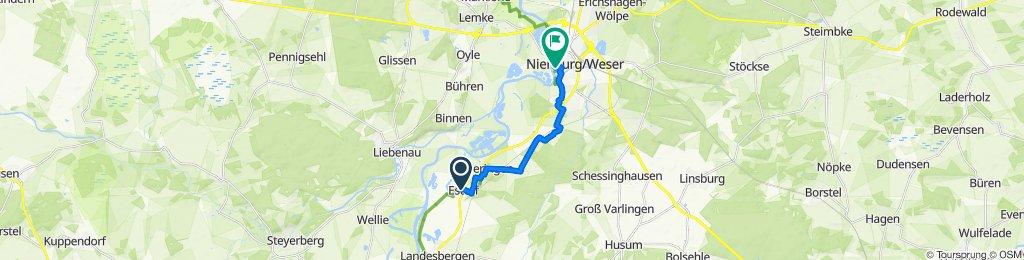 Steady ride in Estorf