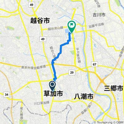 16-3, Takasago 2-Chōme, Soka-Shi to Higashisaitama Road, Koshigaya-Shi