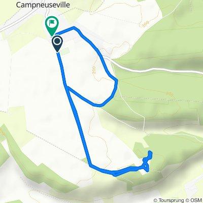 De 2 Route du Balai, Campneuseville à 28 Route Neuve, Campneuseville