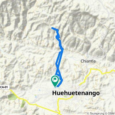 De Huehuetenango a Unnamed Road, Huehuetenango