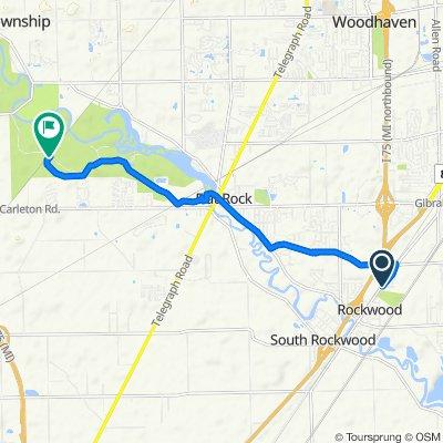 21495 Russell St, Rockwood to Oakwoods Rd, Flat Rock