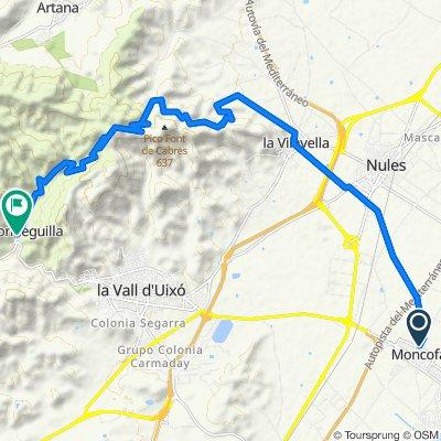 Moncofa - Nules - Vilavella - Alfondeguilla
