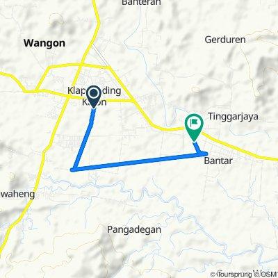 Jalan Pejarakan, Kecamatan Wangon to Unnamed Road, Kecamatan Jatilawang