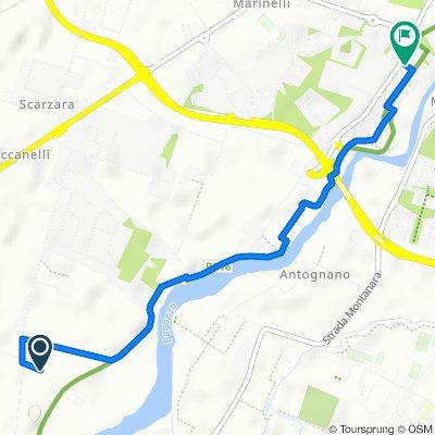 Strada Vigheffio 17/B, Collecchio to Via Giovanni Battista Vico 4, Parma