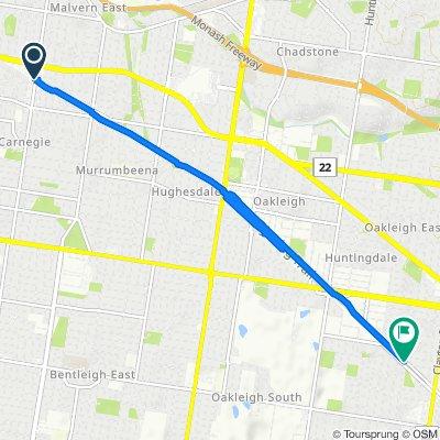 25 Koornang Road, Carnegie to 114-118 Carinish Road, Clayton