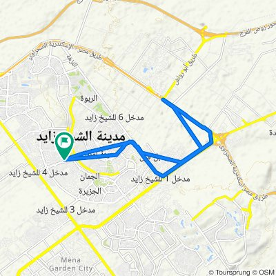 Giza Governorate to Al Amal 22
