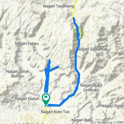 Jalan Sumbar-Riau, Kecamatan Harau to Jalan Sumbar-Riau, Kecamatan Harau