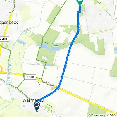 Crojegarten 14, Wolfsburg nach Gausekamp 6, Wolfsburg