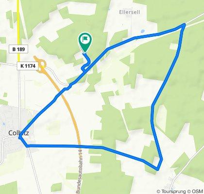 Unnamed Road, Colbitz nach Unnamed Road, Colbitz