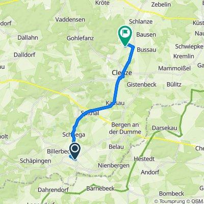 Boneser Straße 31, Schnega nach Beseland 7, Clenze
