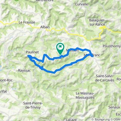 Itinéraire à partir de Pommardelle, Paulinet