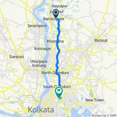 151/A, Kolkata to Bidhan Nagar, Kolkata