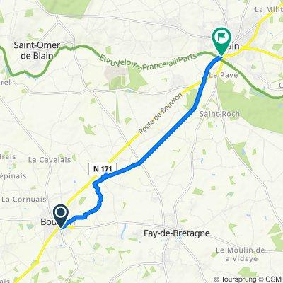 De 6082 Rue Saint-André, Bouvron à 20 Rue Wootton Basset, Blain