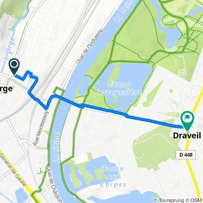 Itinéraire à partir de Avenue Rouget de Lisle 15, Juvisy-sur-Orge