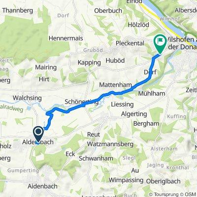 Freiherr-von-Aretin-Platz 3, Aldersbach nach Waizenbach 1, Vilshofen an der Donau
