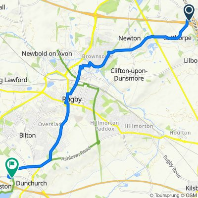 Cycling Routes And Bike Maps In And Around Lutterworth Bikemap Your Bike Routes