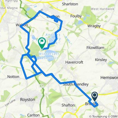 14 Spa Well Grove, Barnsley to Haw Park Lane, Wakefield