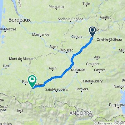 De Salusse, Montsalès à Rue de la République, Pontacq