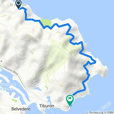 3823–3907 Paradise Dr, Tiburon to 2031–2099 Paradise Dr, Tiburon