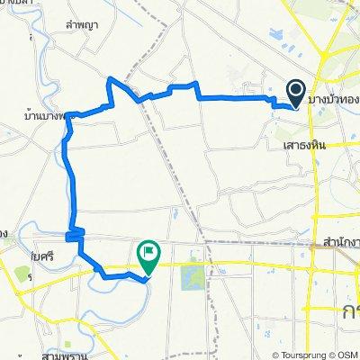 ถนน เลียบคลองบางไผ่ 92/29, Tambon Bang Rak Phatthana to นอกเขตผังเมืองรวม, Tambon Bang Toei