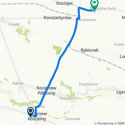 Powolna trasa w Rybno