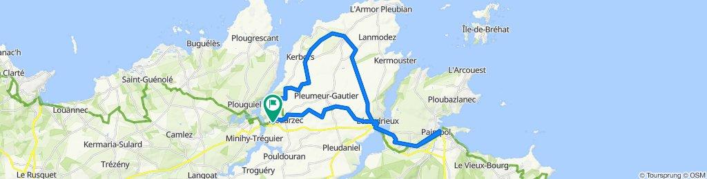 Tour über Plöbi nach Paimpol und zurück