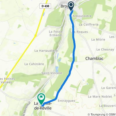 De 1 Rue du 11 Novembre, Broglie à 63 Route du Chamblac, La Trinité-de-Réville