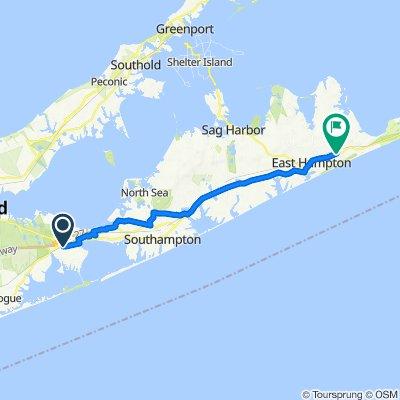 33–37 Good Ground Rd, Hampton Bays to 8 Montauk Hwy, Amagansett
