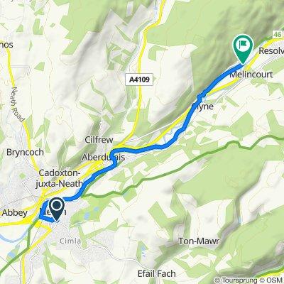 Neath River Route - Forward