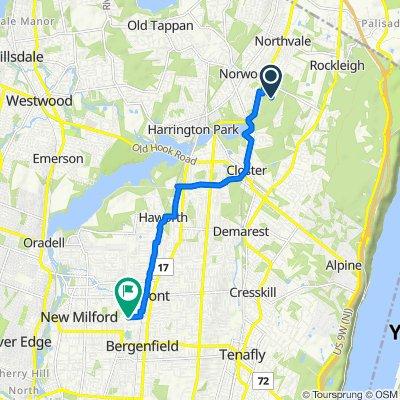 335 Chestnut St, Norwood to 96 Blauvelt Ave, Bergenfield