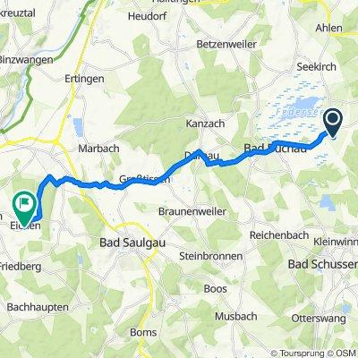 Steinhauser Straße 34, Oggelshausen nach Eichener Straße 18, Hohentengen