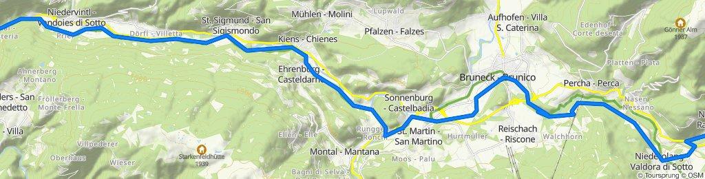 Val Pusteria 7) Rio Pusteria- Rasun di Sopra