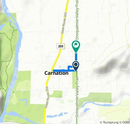 32001–32075 NE 45th St, Carnation to 4900–4998 Milwaukee Ave, Carnation