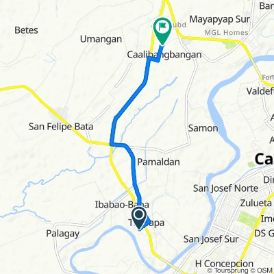 Felipe Vergara Hi-Way, Cabanatuan City to Felipe Vergara Hi-Way, Cabanatuan City