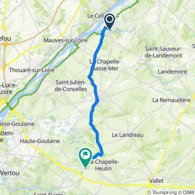 17 Le Pommier, La Varenne to 10 Impasse de Louche Organd, La Chapelle-Heulin